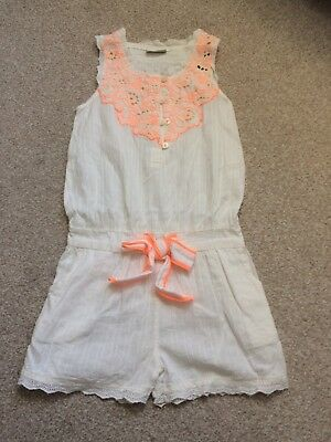 Next Girls Playsuit Size 7 Years