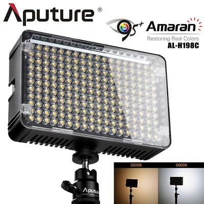 Aputure Amaran AL-H198C LED Video Light CRI95+ 3200-5500K for Camera Camcorder
