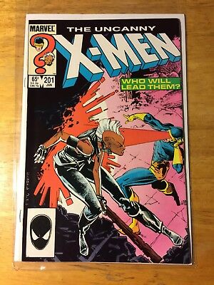 The Uncanny X-Men #201 (Jan 1986, Marvel)1st Appearance Of Baby Cable High Grade