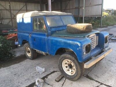 Land Rover Series 3 109 V8 Spares Or Repair Project Barn Find