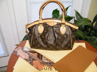 Louis Vuitton Tivoli PM in EUC with Bag Shaper And FREE Twillys