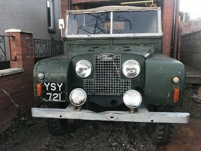 land rover series 1 1954 for restoration