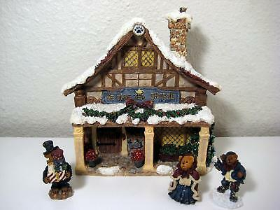 Boyds Bears Collection Dickens' Tea Shoppe Fezziwig's
