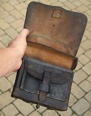 Civil War Model 1864 Pattern  Us Cartridge Box Relic