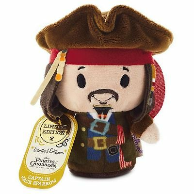 Hallmark Itty Bittys Disney Pirates of Caribbean - CAPTAIN JACK SPARROW Bitty