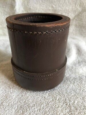 Leather Dice Cup Used
