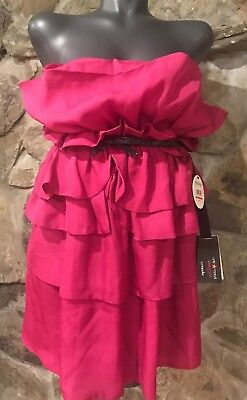 02644faaf720 Giambattista Valli for Impulse Macy's exclusive fuchsia strapless dress SZ  8 NWT