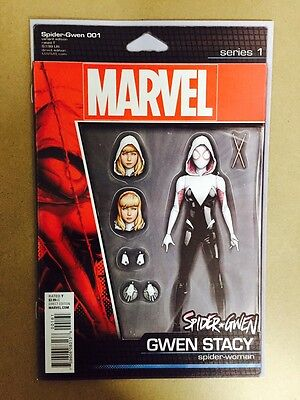 Spider Gwen #1 Action Figure Variant Cover 1St Print (2015) Marvel Comics