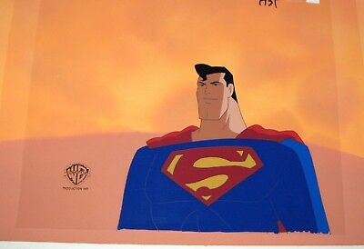 Original production cel  - Superman