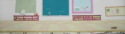 Original production Pan background  - Dexter's Lab