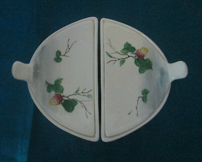 Vintage Retro Made In Japan Serving Butter Dishes With Lids  (K1)