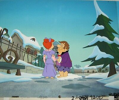 Original Production cel - A Flintstone's Christmas Carol