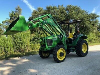 2006 John Deere 5325 4Wd Tractor 542 Loader Bucket - Low Hours!