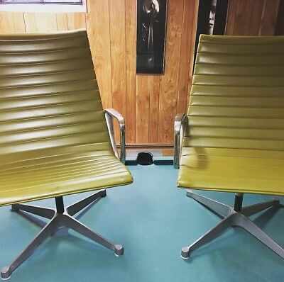 Eames for Herman Miller Aluminum Group Lounge Chairs