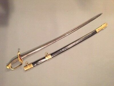 ORIGINAL MODEL 1850 CIVIL WAR STAFF or FOOT OFFICER'S SWORD, Circa 1861-65