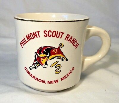 BSA Boy Scouts of America Philmont Scout Ranch Ceramic Coffee Cup Mug