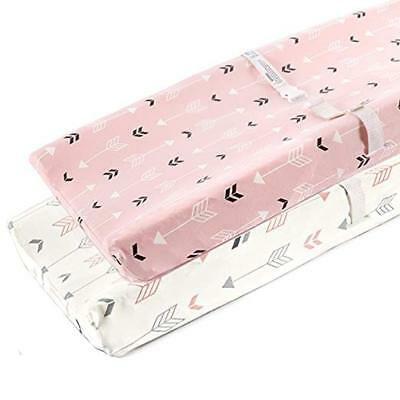 Baby Changing Table Pad Cover Contoured Infant Nappy Changing Mat Diaper Change