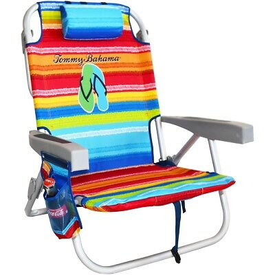 Tommy Bahama Backpack Beach Chair Brand New On
