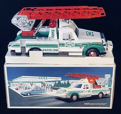 1994 *HESS* RESCUE TRUCK  *Exceptional Condition*. Free Shipping!