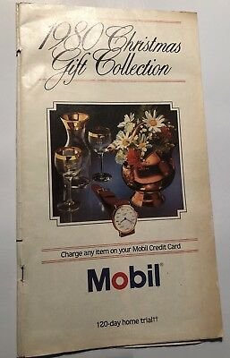 MOBIL PIPELINE Company Gas - 1980 Christmas Gift Collection P629