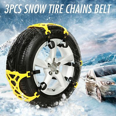 Cadenas para llantas,nieve,barro ,chains snow climbing mud floor Anti slip 3pcs
