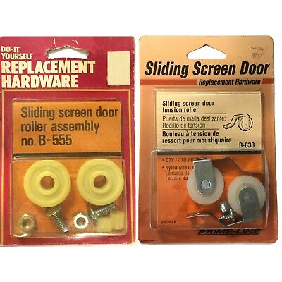B-555 Sliding Screen Door Roller Assembly, Replacement Hardware, Do-it  Yourself