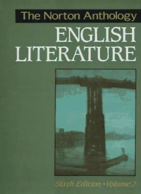 The Norton Anthology of English Literature: v. 2 By Meyer Howard Abrams