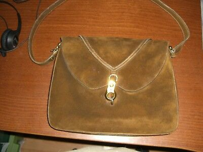 82b1bbb5cb7c Antique Gucci Genuine Calf Leather Purse From 1968 With Original Receipt