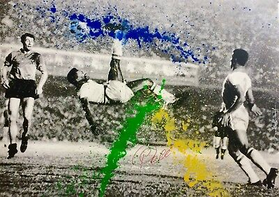 """Mr BRAINWASH - """"The King Pele"""" - Format XL - Hand finished - Edition 75"""