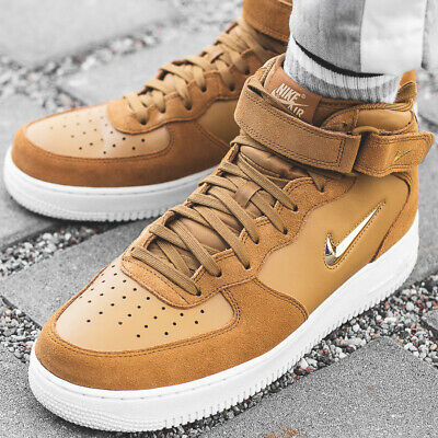Nike Hommes 07 Montantes Force 1 Lv8 Wb High Air Brun Chaussures 6gvf7Yby