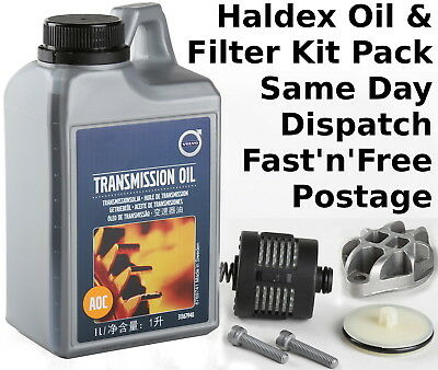 Oil and Filter kit Haldex Volvo S40 S60 S80 V50 V70 XC70 XC90 30787687 31367940