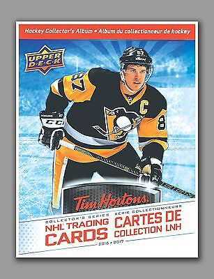 Tim Hortons 2016-2017, Cover Page For Binder, 8.5 by 11 in, Glossy Photo Paper