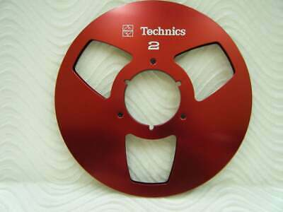 "Blue Technics NAB Aluminum take-up 10.5"" Metal Reel for 1/4"" tape  Made in USA"