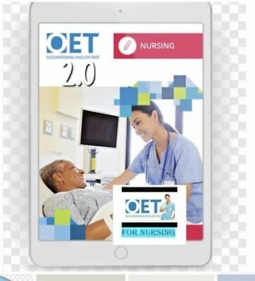 Occupational English Test OET 2.0 Nursing - 8 books in PDF + free test samples