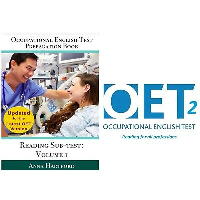 OET 2.0 Reading Book Vol1 in electronic format + 31 Reading Sub Test Part ABC