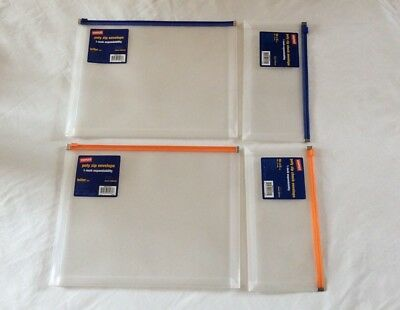 STAPLES Poly Zip Letter Envelope(2)+ Staples Poly Zip Check Envelope(2).NWT