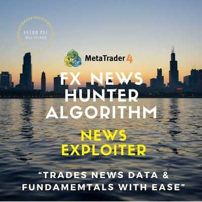 Forex News Hunter MT4 Robot Fully Automated Forex System 2018 / Strategy / FX