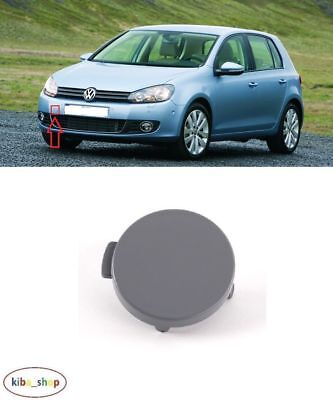 Vw Golf Vi Mk6 2009 - 2013 Front Bumper Tow Towing Eye Hook Cover Cap