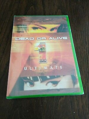 Dead Or Alive 1 Ultimate Microsoft Xbox Game BRAND NEW FACTORY SEALED