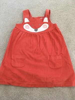 jojo maman bebe Girls Cord Dress 18-24 Months
