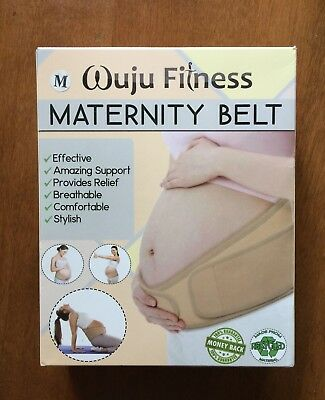 Maternity Belt Size Medium Wuju Fitness New in Box NIB Pregnancy Post-Partum
