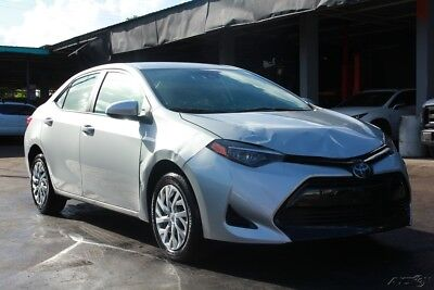 2018 Toyota Corolla SE 4dr Sedan CVT 2018 SE 4dr Sedan salvage, repairable, rebuildable , damage, fix, wreck,  cars,