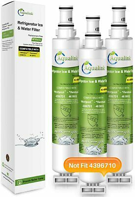 3-PACK REFRIGERATOR WATER FILTER FITS WHIRLPOOL 4396701 EDR6D1 46-9915 ECOAQUA