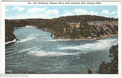 AK USA Post Card The Whirlpool Niagara River from Canadian Side ungel. Nr. 261