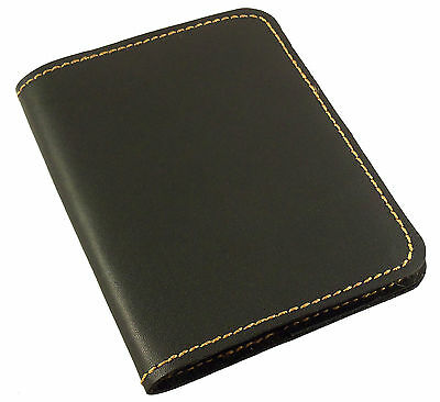 Leather Pocket Notebook Mini Composition Book Cover Travel Notepad Refillable