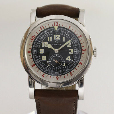 Omega Museum 1938 Pilot Watch Limited With Box & Papers