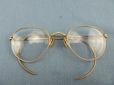 Antique Ornate Gold Wire Rim Bausch & Lomb HiBo Arco  12k  GF Eyeglasses