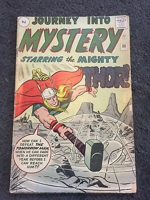 Journey Into Mystery #86 - First Appearance Of Odin - GD/VG (3.0)