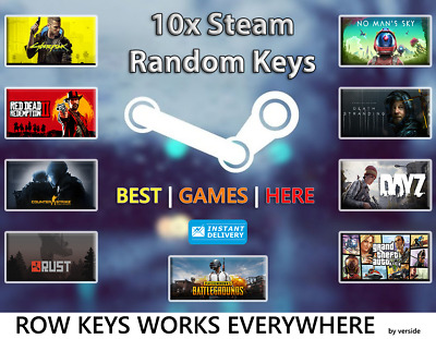 5 X RANDOM Steam CD Keys - CHEAPEST - Games up to £40