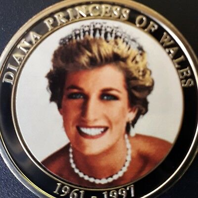 ENGLAND / Lady Diana/ Princess of Wales - MEDAILLE PP Neusilber UNC